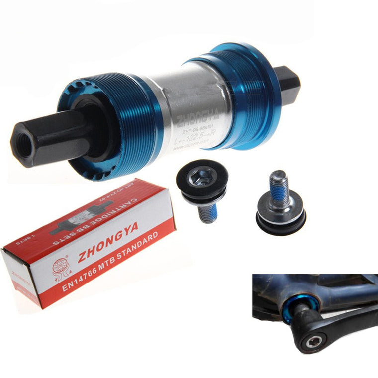 Bicycle BB axis BSA 68mm ISO  Bearing Bottom Bracket 103/107 / 110.5 / 113/116/118/120 / 122.5 / 124.5 / 127.5mm