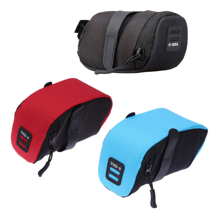 Mini Bike Bicycle Waterproof Storage Saddle Bag  Cycling MTB Seat Tail Rear Pouch 600D Nylon Bicycle Bags