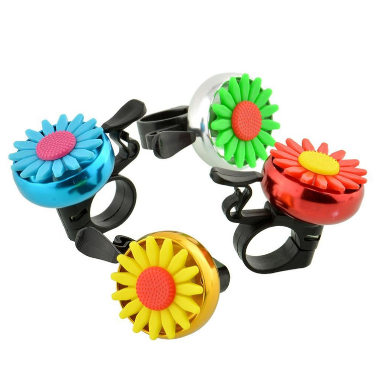 Cuty Flower Bike Bicycle Cycling MTB Handlebar Ring Horn Bell Alarm Safety NEW