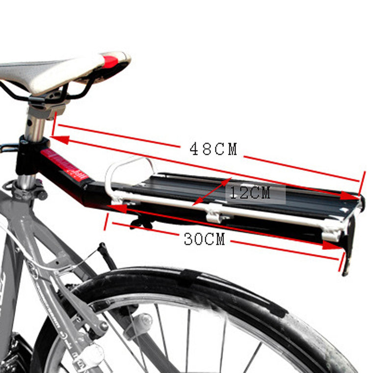 Bike Cargo Racks Cycle Luggage Stand Footstock V Brake Disc Bicycle Kickstand Rack Bicycle Accessories Equipment