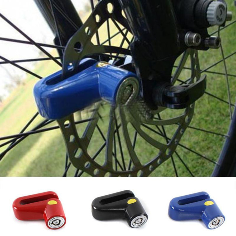 Security Protect Disc Brake Anti-theft Disk Disc Brake Wheel Rotor Lock For Scooter Bike Bicycle Alarm Lock