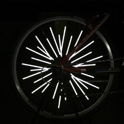12pcs/bag Bicycle Spoke Reflector Bicycle Reflective Sticker