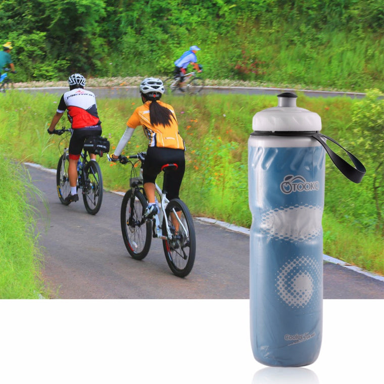 710ml Portable Outdoor Insulated Water Bottle Bicycle Bike Cycling Sport Water Cup Kettle Recyclable Bottle Newest