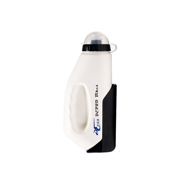 One Pc Cycle Water Bottle with Cage Red White Color Food-grade Pe Material drop shipping