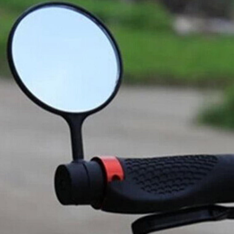 Black Handlebar Mirror Rearview Back Mirror Mini Bike Bicycle Cycling Rearview Outdoor Sport