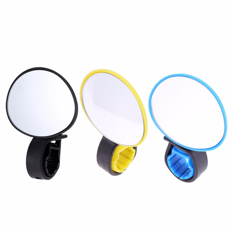 Universal Adjustable 360 Degree Rotate Cycling Bike Handlebar Rear View Mirror Bicycle Safe Rearview Mirror 3 Colors