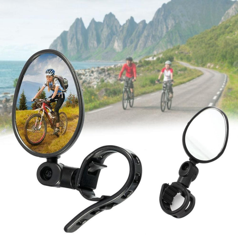 Universal MTB Cycling Bicycle Bike Adjustable Rotate Handlebar Rear View Mirror