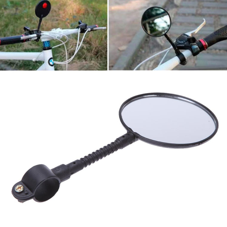 Mountain MTB Bike Bicycle Cycling Flexible Handlebar Rear View Mirror Reflector