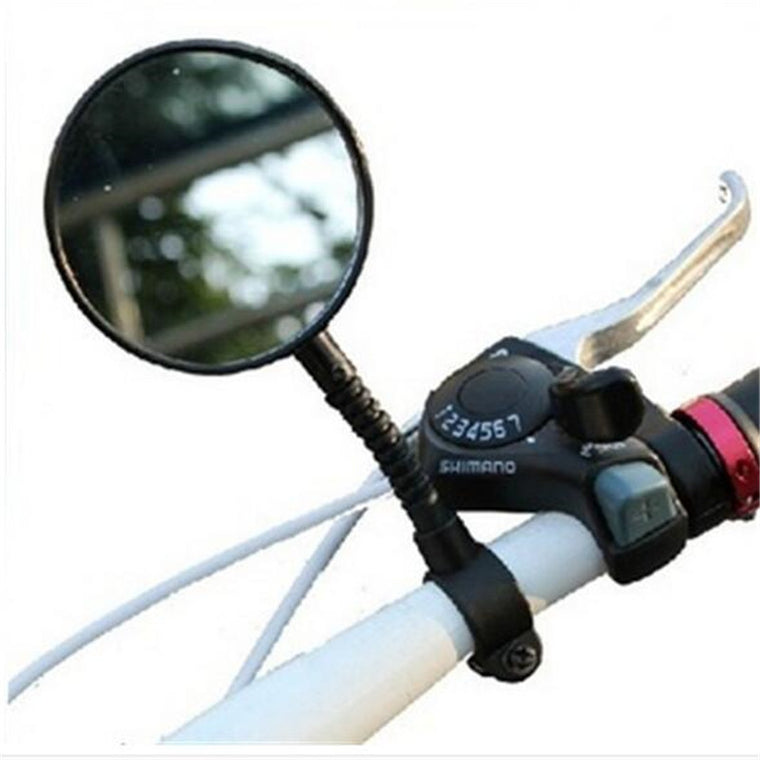 2Pcs Hot Sale Mountain Road MTB Bike Bicycle Rear View Mirror Reflective Safety Flat Cycling Handlebar Rearview Mirror Accessory