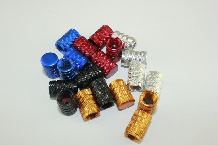 cycling car motorcycle univeral cylinder-like valve cap bike valve Cover MTB valve dust hat 5 color options