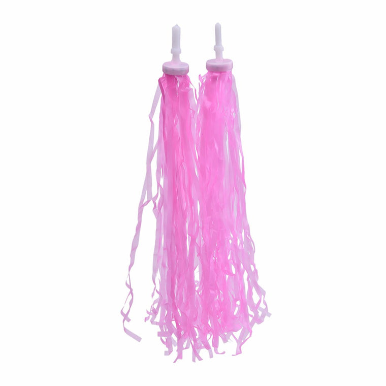 1pair Bicycle Bike Cycling Tricycle Kids Girls Handlebar Streamers Tassels Colorful