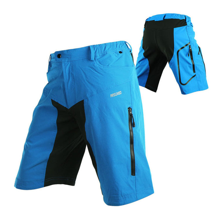 Men's Cycling Shorts Outdoor Sports Motocross Bicycle Shorts Hiking Camping Downhill Clothing MTB Mountain Bike Short Pants