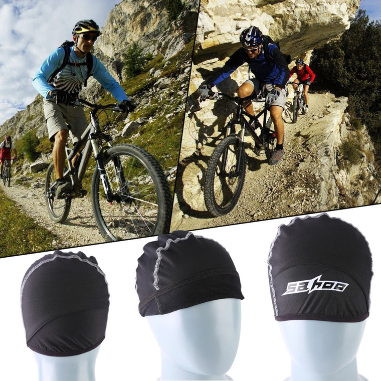SAHOO Winter Riding Road Bike Bicycle Caps Men Hiking Skiing Cycling Riding Windproof Hat Helmet Inner Caps 22*15cm WHolesale