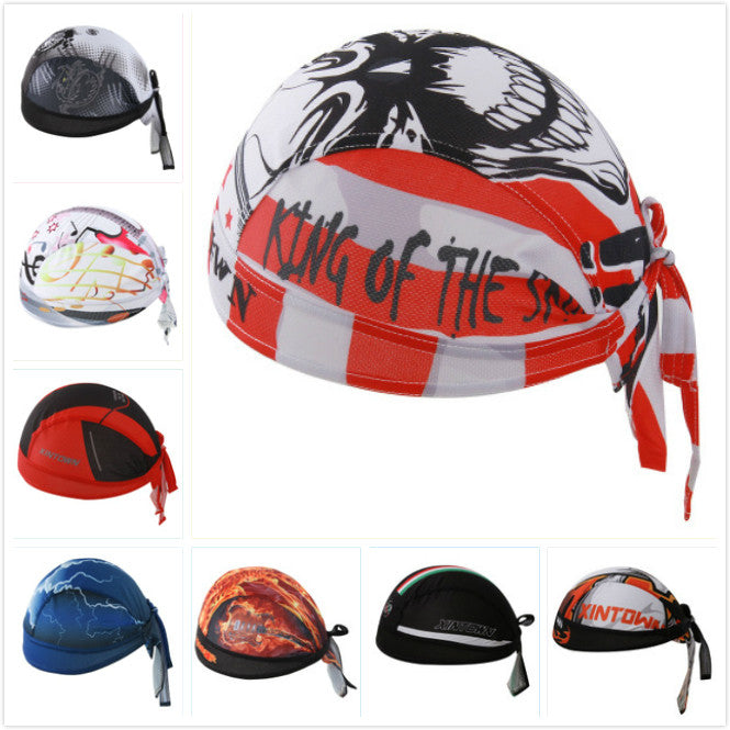 Outdoor Sport Men MTB Bike Bicycle Cycling Cap Bandana Pirate Hat Breathable Sweat Helmet Hat Skull Head Scarf Headband Ciclismo