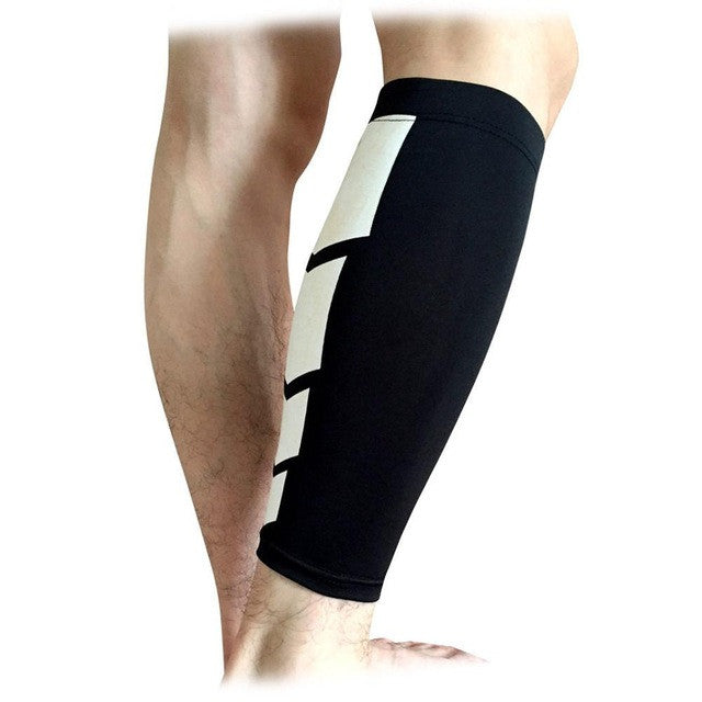 Base Layer Compression Leg Sleeve Shin Guard Men Women Cycling Legs Warmers Running Football Basketball Sports Calf Support 1PC