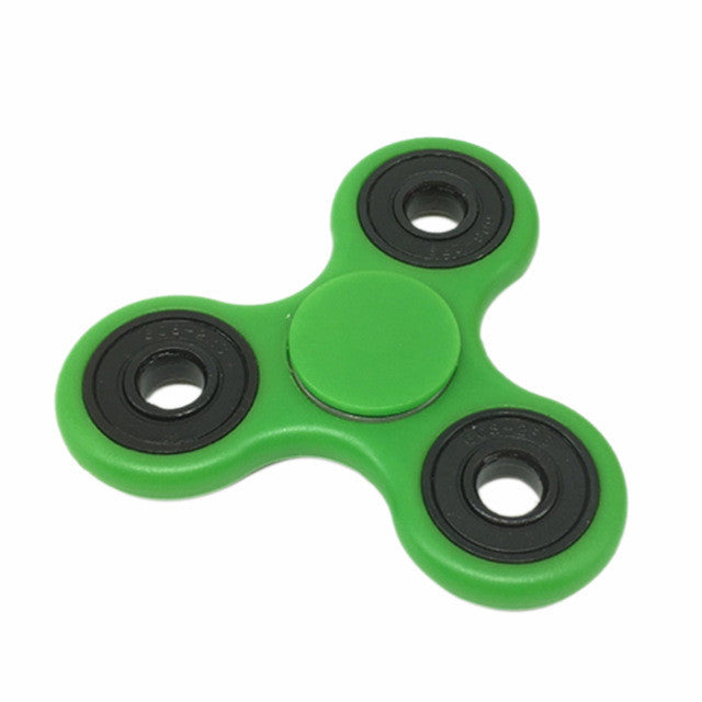 ABS Hand Spinner Fingertip Top Fidget Tri-Spinner EDC Focus Toy for ADHD Anti-Stress Gyroscope Pressure Release Gear Board Game