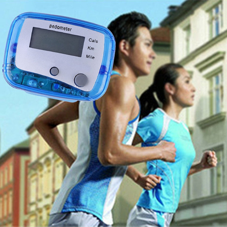Waterproof Step Movement Calories Counter Multi-Function Digital Pedometer Bodybuilding