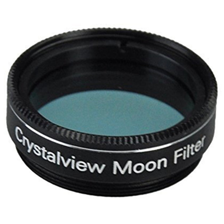 1.25 Crystalview Moon Filter for Telescope Eyepiece - Standand 1.25inch Filter Thread - Enhance Lunar Planetary Views