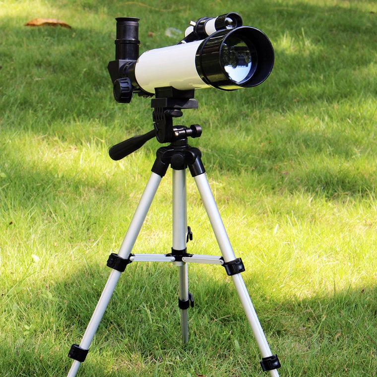 SVBONY Astronomy Monocular Refractor 60/420mm Telescope for Kid School w/Cell Phone Mount Adapter Telescope White F9304B