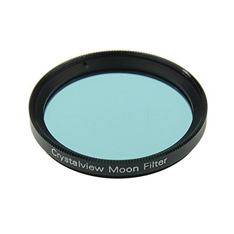 "2"" Crystalview Moon Filter for Telescope Eyepiece - Standand 2inch Filter Thread - Optical Glass - Enhance Lunar Planetary Views"