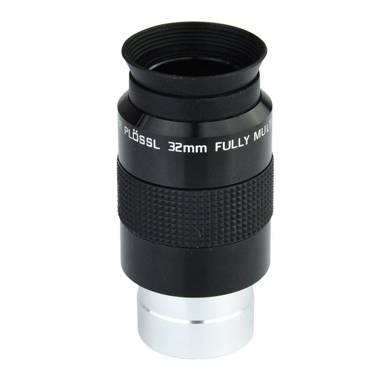 "Telescope 1.25"" Super Plossl Eyepiece 32mm (SPL Plossl Eyepiece) - 52 Degree FOV and 4-Element Design"