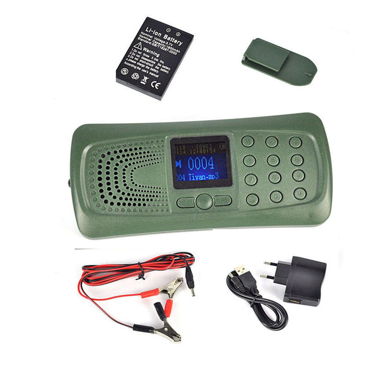 Hunting Bird caller MP3 player Digital bird sound caller Game Hunting Decoy CP-387
