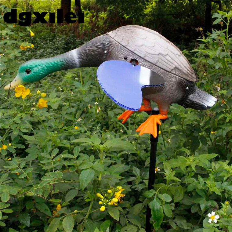 Remote Control 6V Motorized Duck Decoy To Hunt Duck
