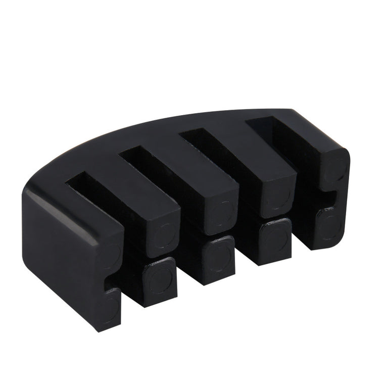 1pc Black High Quality Heavy Rubber Cello Practice Mute Rubber Mute free shipping