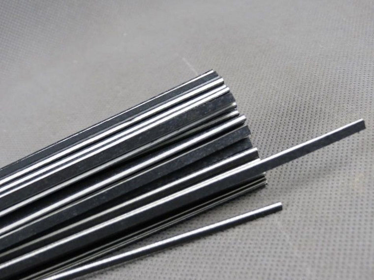 100 pcs Cello(black+white+black)wood strip,decorative rib material of maple