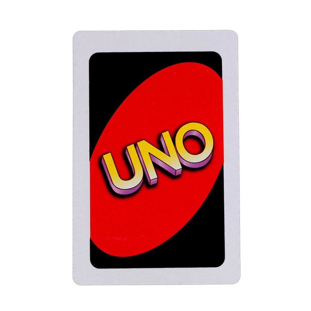Hot Sale Gift Family Entertainment Board Game UNO Poker Playing Cards Puzzle Games Family Fun Poker Russian Rules Free Shipping