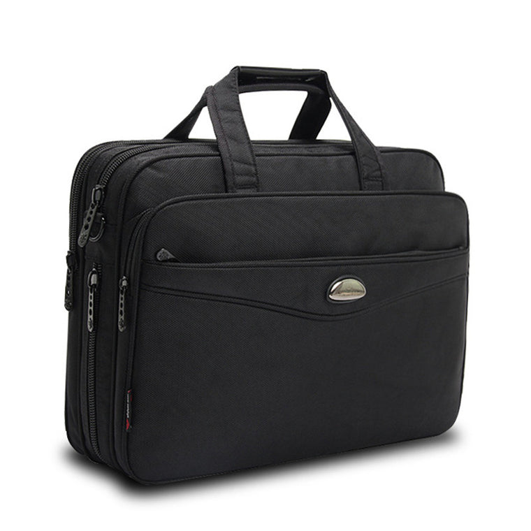 16 Inches 15.6 laptop briefcase Men's High-grade wear-resistant canvas briefcases Tablet Bag Notebooks 16 inch handbags