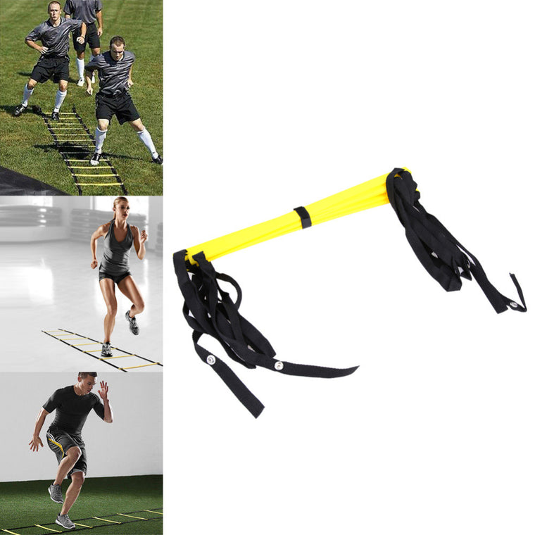5 rung 10 Feet 3M Agility Ladder for Soccer Speed Football Fitness Feet Training Soccer Training Equipment Outdoor