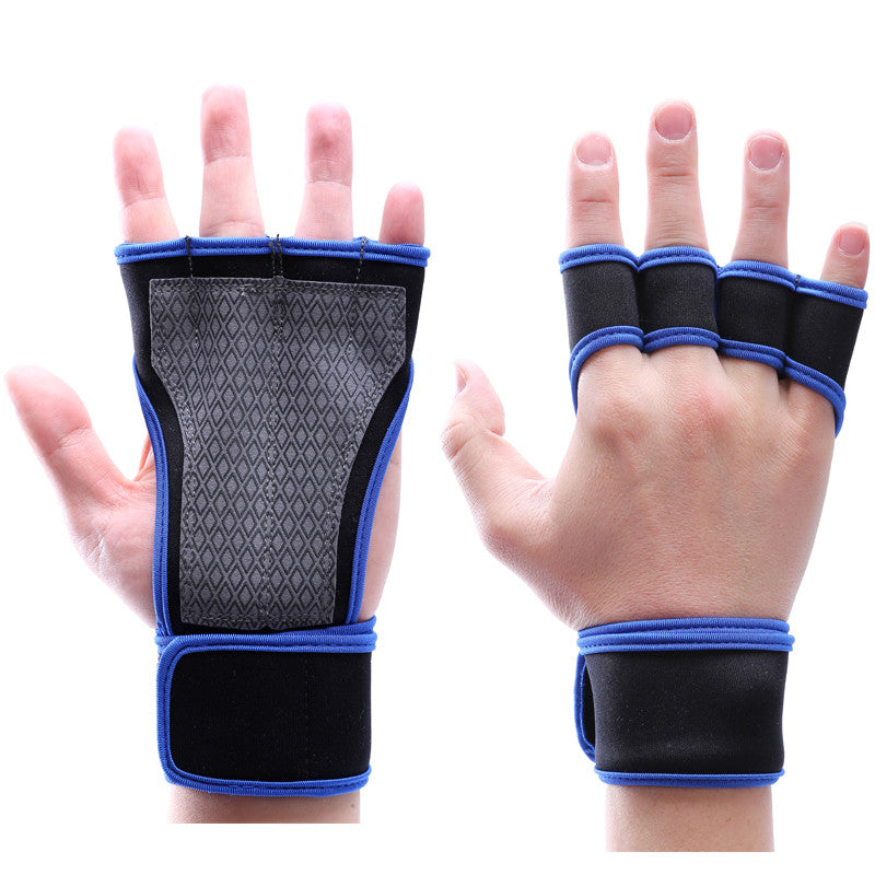 Sports Crossfit gloves dumbbell Bodybuilding training fitness gloves  weightlifting hand pad female Gym Gloves