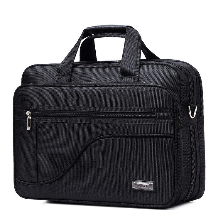 12-17 Inch briefcase Men's Large capacity and multiple functions business Oxford laptop briefcase 15.6inch handbags