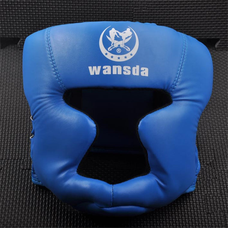 New taekwondo helmet Head Protector for boxing Sanda Karate Kickboxing(13~25 years old)