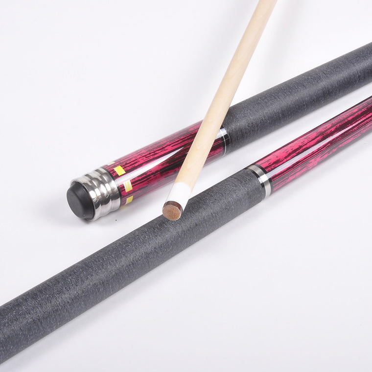 Brand JianYing Billiard pool Cue  Cue tip 11.5 Maple, handmade 1/2 Nine-ball Ball Arm,18-20oz snooker cue Model PB09