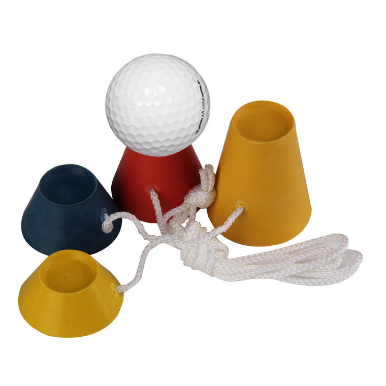 Sports 4IN1 Golf Rubber Tees 33mm Golf Tees Durable Golf Training Kits Golf Accessories