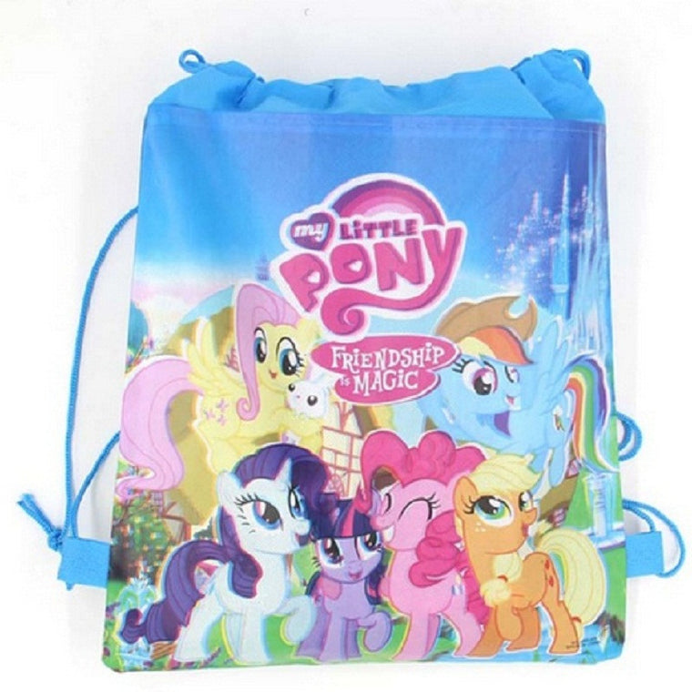 1pcs Red pony Captain Kids schoolbag backpack kids birthday party Favor, Mochila escolar, school kids backpackA4848