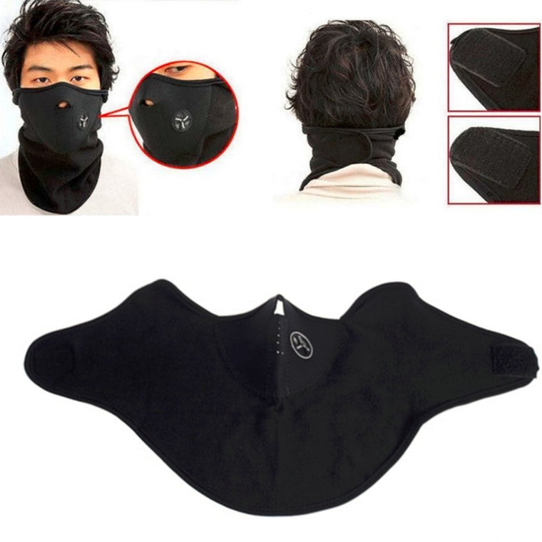 Wind Cycling Mask Veil for Ski Snowboard Bike Motorcycle Hiking Neck Warm Half Face Mask