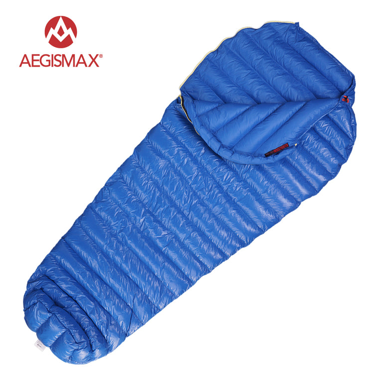 M2 Filling 380g/420g 800FR  Outdoor Ultralight Mummy Type White Goose Down Camping Winter Sleeping Bag