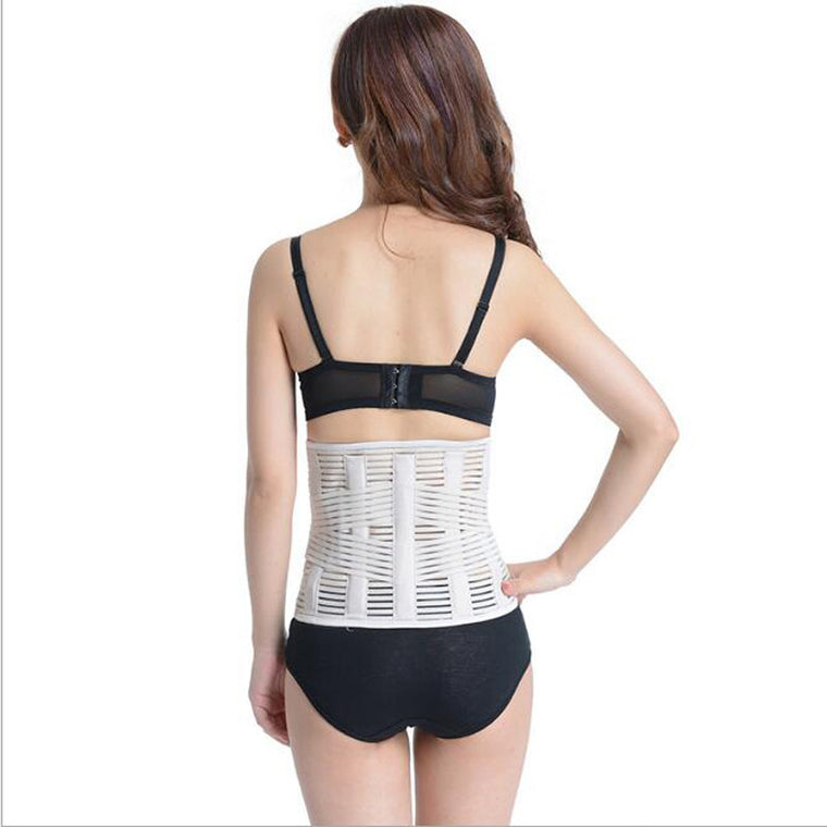 Support Waist Pain Back Injury Supporting Brace For Fitness Weightlifting Belts Sports Safety Waist Support Black B13
