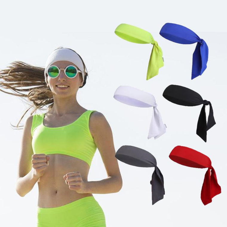 Outdoor Sports Running Tennis Yoga Gym Headband Hair Band Wrap Bandana
