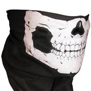 Skull Face Mask Balaclava Skull Bandana Sport Headband Scarf Bike Halloween Paintball Ski Motorcycle Helmet Neck