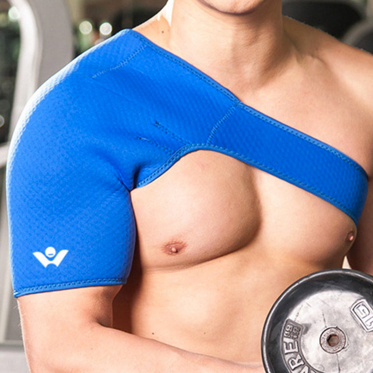 New Sports Satety Magnetic Therapy Posture Orthopedic One Shoulder Back Support Belt Brace Pain Relief Recovery for Men Women