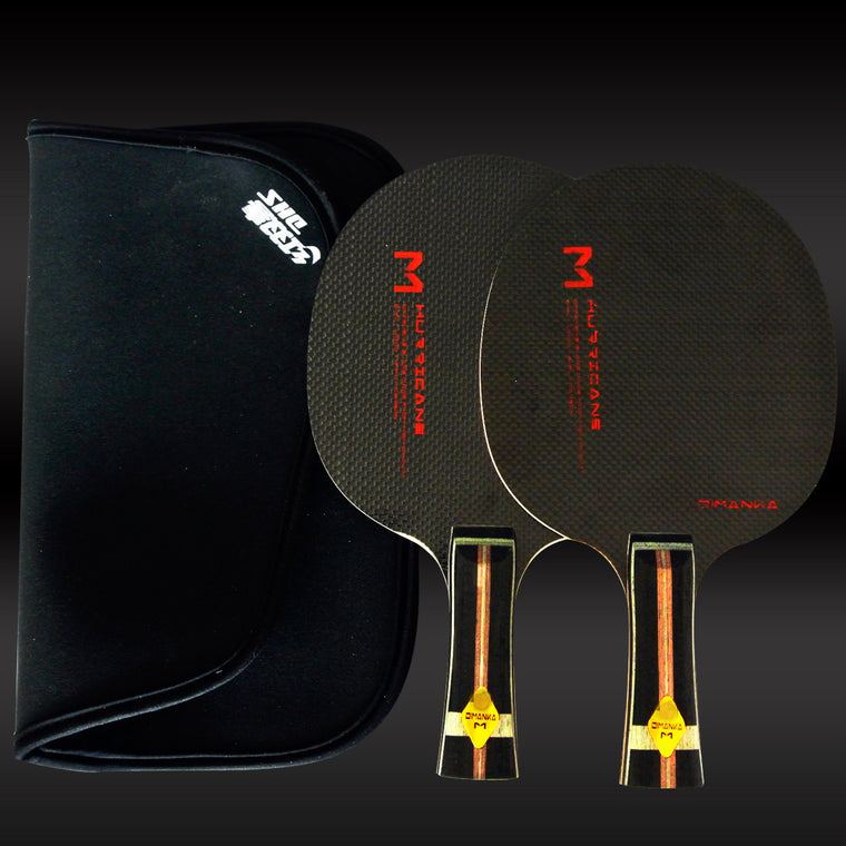 XVT M  Whole Carbon / Full Carbon TABLE TENNIS Blade/ Table Tennis Bat Pingpong blade Send DHS Cover case