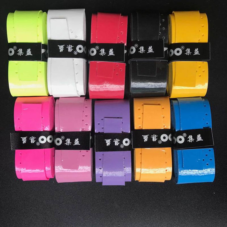 (10pcs/lot)Tacky feel Grip/Pro Overgrip(use for tennis,squash Speedminton padel and badminton)