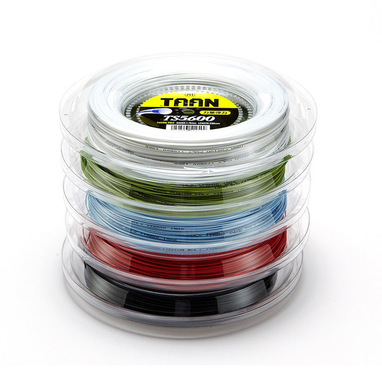 Brand new Tennis String Polyester String Tennis Racket String 200 Meters 5600 Guage 18 = 1.15mm