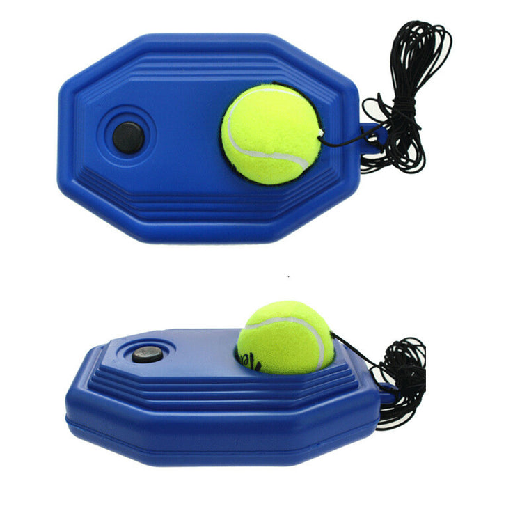 Rubber Tennis training machine exercise ball Self-study rebound balls sparring device trainers Sports entertainment supplies