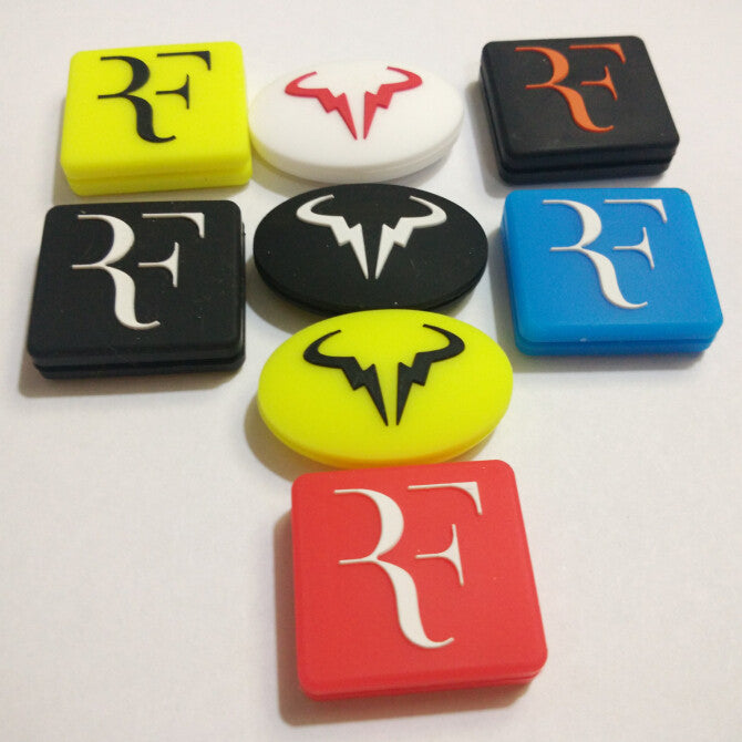(50pcs/lot)Roger Federer and Rafael Nadal vibration dampener