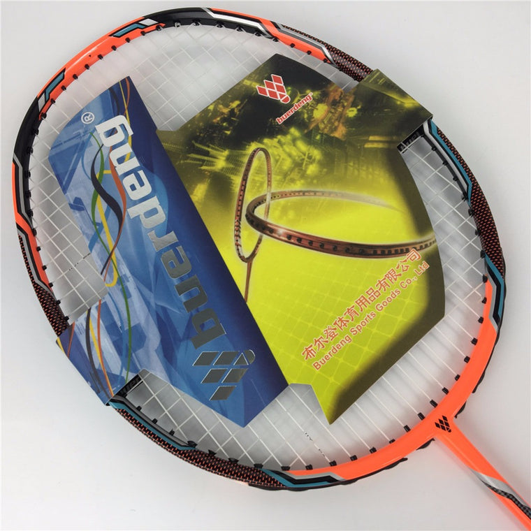 NANO Z SPEED Badminton racket with string 22-30Lbs high modulus strong frame NR Z SPEED badminton rackets de badminton